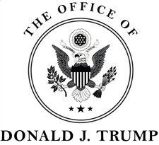 Trump 45 office logo 225