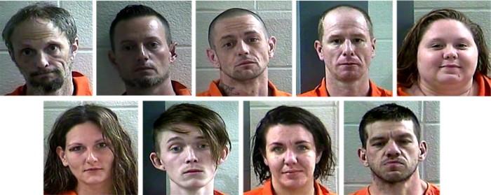 Nine arrests after drug investigations last week at two game rooms